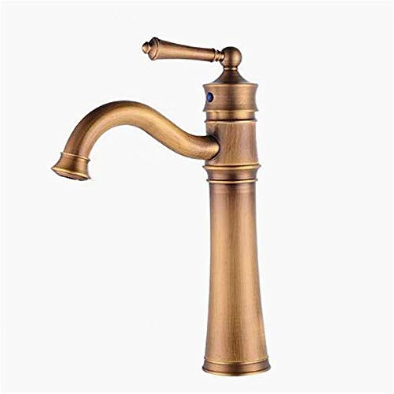 Bacino di rame europeo sopra il bacino del contatore Che aumenta il singolo lavabo Retro del fgold Caldo universale e Freddo può Essere girato