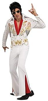 Rubie s Deluxe Aloha Elvis Costume White Extra-Large