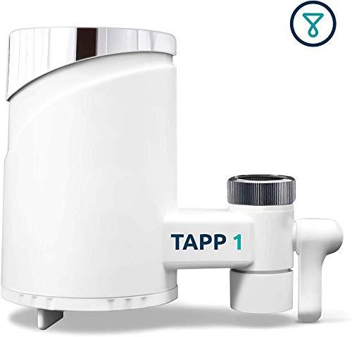 TAPP Water TAPP 1 - Filtro de Agua para la Cocina - Elimina Microplasticos, Cloro, Pesticidas, Metales Pesados - Sistema de Filtración Grifo