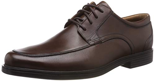 Clarks Herren Un Aldric Park Derbys, Braun (Tan Leather), 46 EU