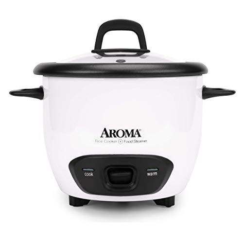 Aroma Housewares 6-Cup (Cooked) (3-Cup UNCOOKED) Pot-Style Rice Cooker (ARC-743G) Montana