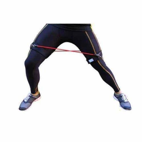 FH Velocità e forza di Resistenza Kinetic - bande di gamba resistenti pliometria allenamento per la forza à Elastiche Fitness Set di 6 Banda Elastica Fasce Resistenza per Fitness Yoga Crossfit