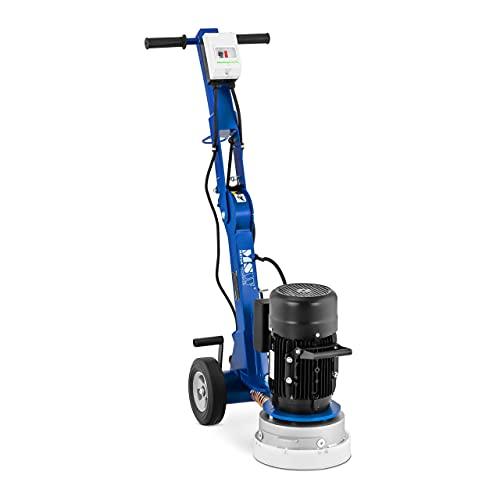 MSW Amoladora Pulidora de Suelos Industriales MSW-FG-250 (Potencia: 2.200 W, Disco de pulido: Ø 250 mm, Velocidad: 1.410 rpm)