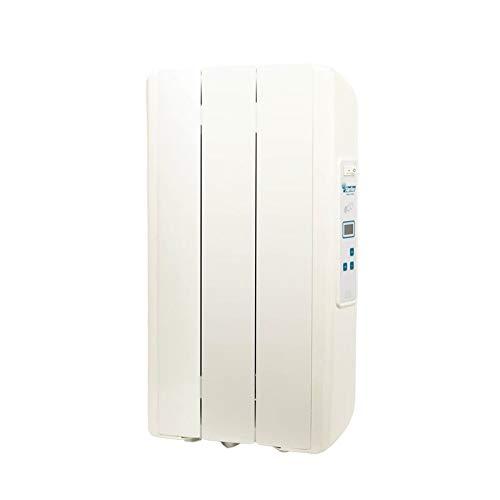 farho Riscaldamento Elettrico a Basso Consumo Eco Green 330 Watts (3) · Termosifone Elettrico con Cronotermostato Digitale 24/7 · per soggiorni a 6 m² · 10 Anni di Garanzia