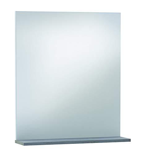13Casa Nettuno badkamerspiegel, A4, nobileerd, grijs, 69 x 60 x 15,5 cm