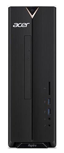 Acer Aspire XC-330 Desktop con Processore AMD A9 9420, RAM da 8GB DDR4, SSD 256GB, DVD-RW, Scheda Grafica Radeon R5, Tastiera e Mouse USB, Windows 10 Home