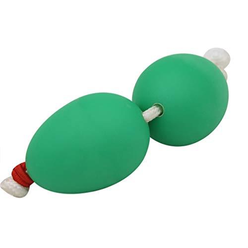 Artibetter agitador africano sonajero plástico huevo agitadores percusión juguete musical