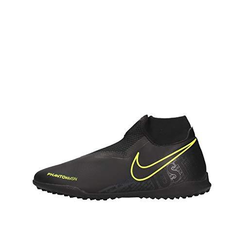 Nike Phantom Vision Academy Dynamic Fit Tf, Scarpe da Calcio Unisex-Adulto, Multicolore (Black/Black/Volt 7), 40 EU