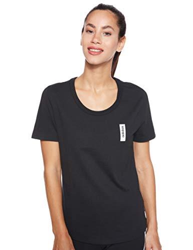 adidas Damen Brilliant Basics T-Shirt, Black, M