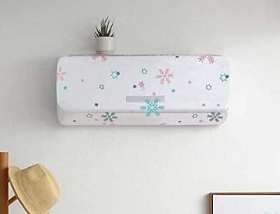 HOME HUNT PVC Air Conditioning Dust Cover Waterproof Folding Spilt Ac Cover for 1 Ton Indoor Unit (1PCS)(Random Design)