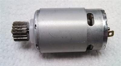 MLToys Replacement Motor for Power Wheels w/ 17 Tooth Pinion Gear
