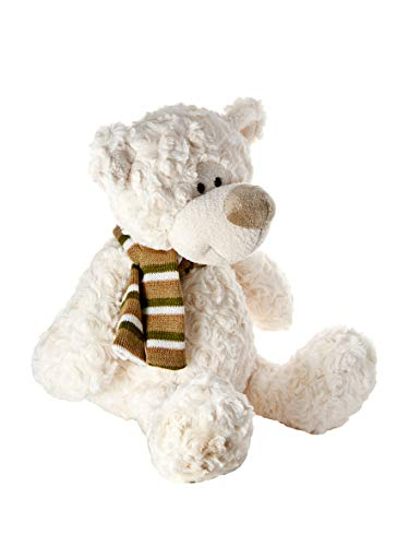 Mousehouse Gifts Weiß 34cm Teddybär Kuschelbär sehr weich für Jungen und Mädchen