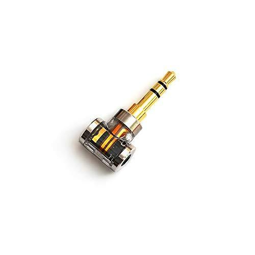 DD ddHiFi DJ35A 2.5mm バランスメスから3.5mmオスヘッドホンジャックアダプター 24K金メッキ銅プラグ付き オーディオコンバーター FiiO、Astell&Kernなどのブランドのイヤホン/音楽プレーヤー/アンプ用