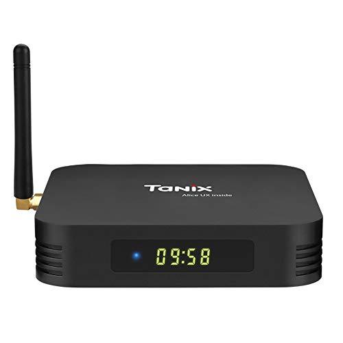 Xilibod Tanix TX6 TV Box Android 9.0 2GB RAM/16GB ROM 4K TV Allwinner H6, up to 1.5 GHz, Quad core ARM Cortex-A53 H.264 Decoding 2.4GHz WiFi Smart TV Box