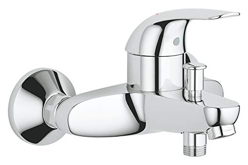 Grohe 32743000 Euroeco Miscelatore Monocomando per Vasca-Doccia, Cromo