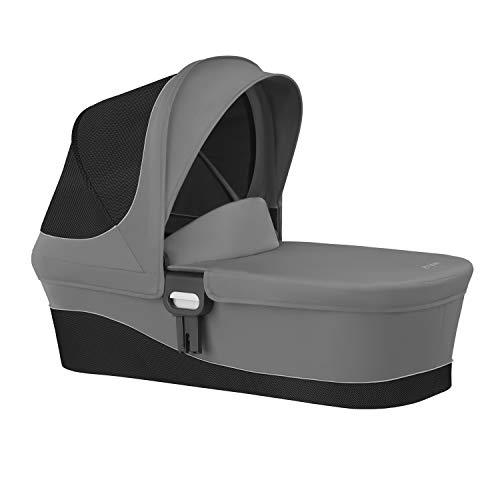 CYBEX Gold Kinderwagenaufsatz Cot M, Ab Geburt bis 6 Monate (9kg), Manhattan Grey