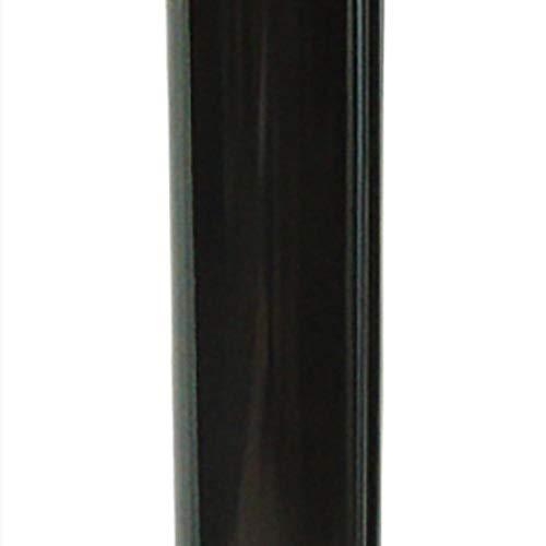 Wolfpack 22011035 - Tubo estufa vitrificado, Negro, 20 cm
