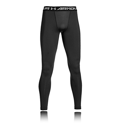 Under Armour Ua Cg Armour Leggings Herren Fitness - Hose, Schwarz Black/Tropic Pink, XL
