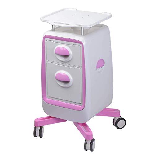 Beauty Trolley, Dreistufiger Werkzeugwagen mit Schubladen, Basis für Wasserleichte Nadelhalter, Ablage für Tischinstrumente, Trolley für Den Schönheitssalon, T-C,