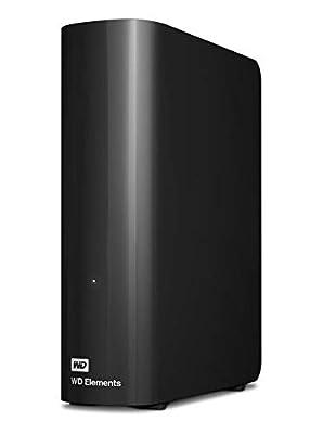 WD 6 TB Elements Desktop External Hard Drive - USB 3.0, Black