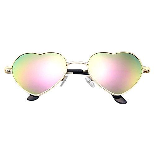 Unisex Silber Und Schwarz Beatles Retro Sixties Style Rund Metall Brillen