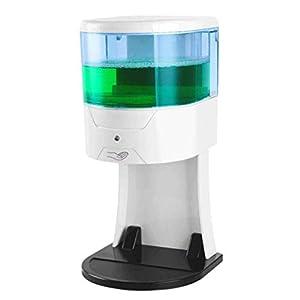 HSBAIS Dispenser Sapone Automatico, Touchless Sensore di Movimento a Infrarossi 220ml Dispenser Gel Disinfettante Mani Erogatore di Schiuma per Bagno,Cucina e WC