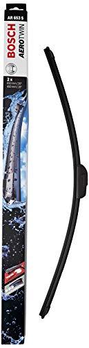 Bosch Aerotwin AR653S- Tergicristalli, Lunghezza: 650mm/400mm, Nero, Confezione da 2 spazzole...