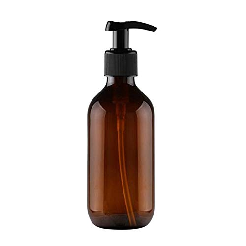 Gran Capacidad de Espuma de Prensa dispensador de jabón espumante Botella de loción de baño champú Botella de Gel de Ducha Oficina en casa Escuela de hostelería (tamaño : Brown)