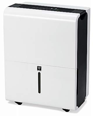 Best Deals! HP MDCDP-60AEN1-BB0-A Dehumidifier, Modern White Design, 60-Pt. - Quantity 1