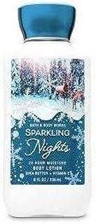 【Bath&Body Works/バス&ボディワークス】 ボディローション スパークリングナイト Super Smooth Body Lotion Sparkling Nights 8 fl oz / 236 mL [並行輸入品]