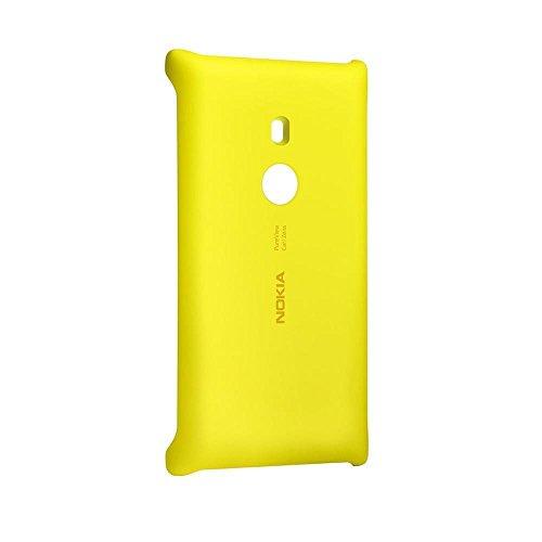 Nokia Custodia Rigida con Ricarica Wireless per Modello Lumia 925, Giallo