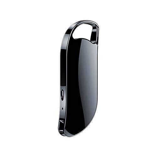 Schlüsselanhänger, Digitales Diktiergerät, Sprachaktivierung, USB-Flash-Laufwerk, silberfarben, Audio-Sound, Diktiergerät, tragbarer MP3-Player