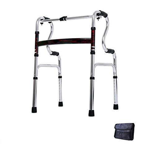 XCY Gehhilfe Medical Instruments Aluminiumlegierung Walker Gehen, Tragen 2 Caster Kissen Hilfs Walker, Eine Vielzahl Von Stilen Erhältlich,a