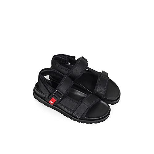 Dsquared 2 Sandalias Fidlock, color Negro, talla 39 1/3 EU