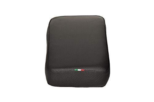 Fietsen Fiets Terug Seat Mat Kids Kind Zachte Comfortabele Kussen Fiets Achterste Zadelstoel Carrier Pad Quick Release Verwijderen en Installatie. polyester. Kleur: zwart. Gemaakt in Italië (CTUR_40)