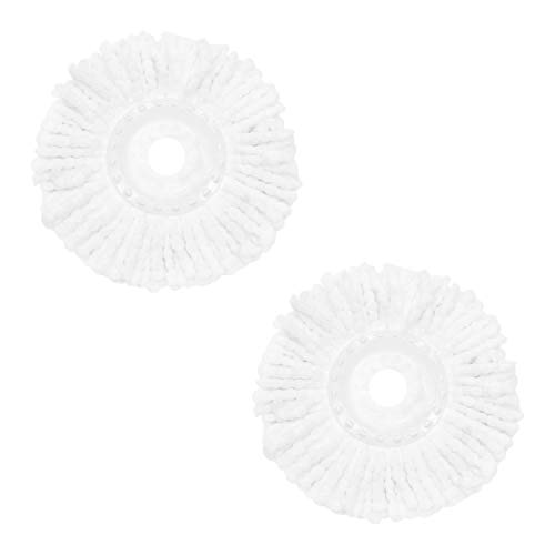 BLACK+DECKER BXFM0003GB 2pk Spin Mop Refill Heads, Suitable for Hard...