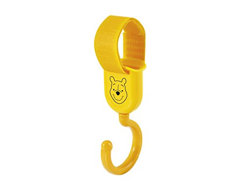 Lulabi Disney Winnie Confection 2 Cintres pour Armoire en ABS, Jaune