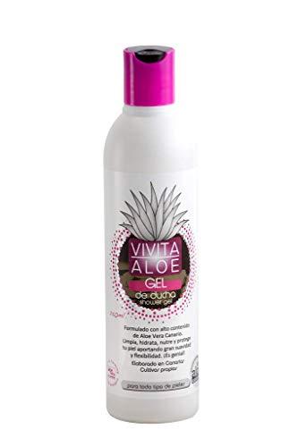 Vivita Aloe - Gel de ducha de Aloe Vera de Canarias -250 ml