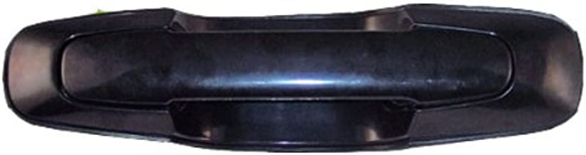 1999-2004 fits Chevy Tracker Front OR Rear Black Outside Outer Exterior Door Handle Left Driver Side (1999 99 2000 00 2001 01 2002 02 2003 03 2004 04)