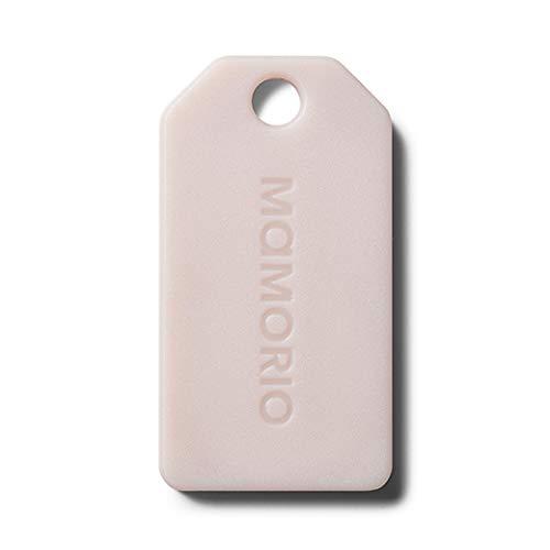 第3世代MAMORIO 世界最小クラスの紛失防止タグ/MAMORIO Spot700路線/AR対応/紛失防止アラート/クラウドトラッキング/性能大幅アップ/ (1個, Milk Beige)