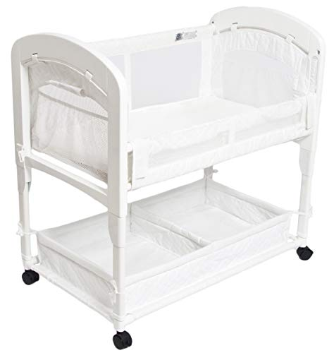 Arm's Reach Concepts Cambria Co-Sleeper Bassinet, White