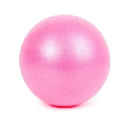 Jary 25cm Mini Gimnasia Pelota de Ejercicio Equilibrio Yoga Ejercicio Bola Gym Fitness Pilates Bola Bola Bola de Entrenamiento Que Adelgaza la Cubierta li (Color : Pink)