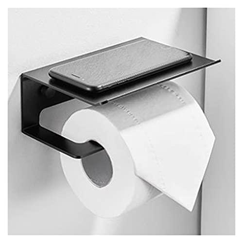 GuanRo Tenedor de Papel higiénico Herramientas de baño para estantes de baño Montado en Pared Papel de Toalla de Papel Toallito Tapa de Inodoro