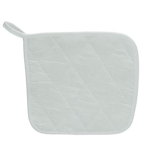 efco – Bienes Cacerola Soporte, algodón, Blanco, 17 x 17