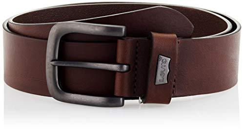 LEVIS FOOTWEAR AND ACCESSORIES Cabazon Metal cinturón, Brown, 70 Unisex Adulto