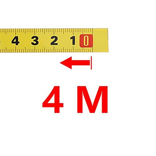 Cinta métrica reutilizable que no es fácil de romp 1-5M METRICE MITRE SERVICIA Cinta métrica de la cinta métrica 0.5 '' Autoadhesivo T-track Sce Steel Ruler Table Tabla Herramientas de medición de la