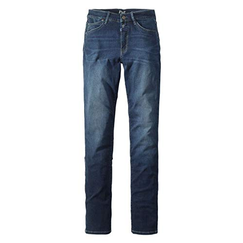 Damen 5 Pocket Jeans der Marke Paddock's, Pat (P60381 3285 000), Größe:W48/L32, Farbe:Stone Blue (4526)