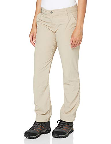 Columbia Silver Ridge 2.0 Pantalón de Senderismo Nailon, Mujer, Beige (Fossil), Talla...