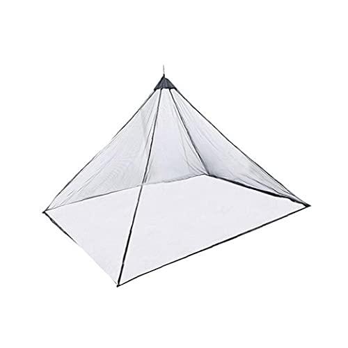 Uayasily Tenda per Zanzariera Portatile Leggero Leggero Mosquito per Montagna Camping Travel Black