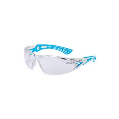 Bollé RUSHPSPSI Rush Plus - Gafas de sol, color blanco y azul